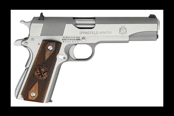 Springfield Armory 1911 45 Mil-spec Stainless