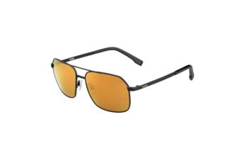 Sunglasses - Navis Matte Black - Hd Polarized Brown Gold Lens - Medium