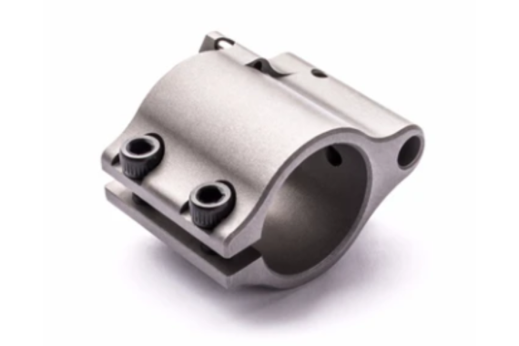 """Superlative Arms  .750"""" Adjustable Gas Block, Bleed Off – Clamp On, Stainless Steel, Matte Finish"""
