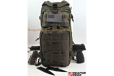 TACTICAL BACKPACK HOLSTER INCLUDED EXPANDABLE OD GREEN