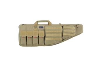 Tactical Ar Case With External Handgun Case, 42