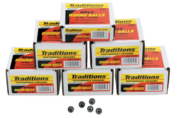Traditions Revolver, Trad A1642    Revlvr Round Ball .454  100