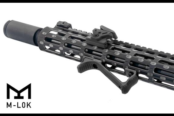 UTG Ultra Slim Angled M-LOK Foregrip, Matte Black