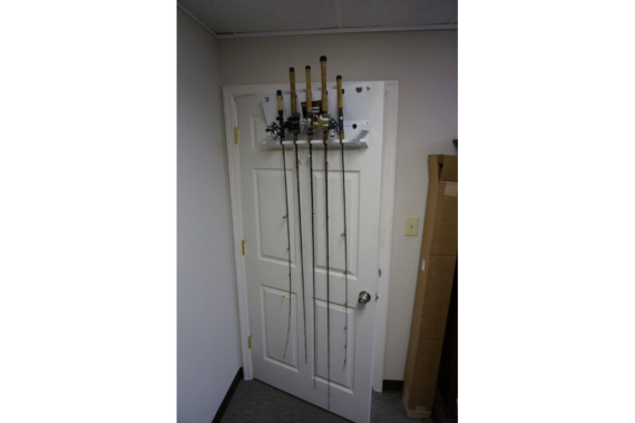 Viking Solutions Door Frame Fishing Rod Rack