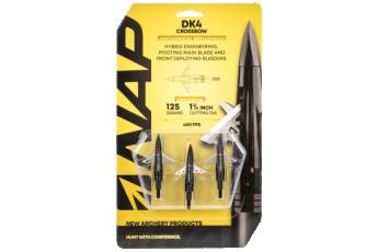 Walkers Game Ear Dk4, Nap 60-dkx125      Dk4 125 X-bow Broadhead 3pk