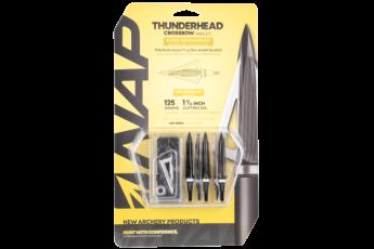 Walkers Game Ear Thunderhead, Nap 60-695       Thunderhead 125 Crossbow 5pk
