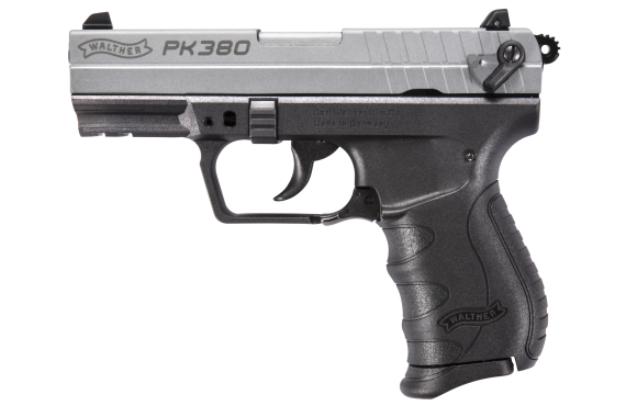 Walther Arms Pk380 380acp 8+1 3.6 Nickel