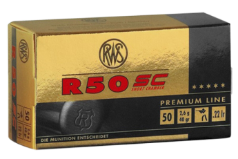 Walther Arms R50, Wal 2318602   22lr R50 Short Case     50