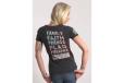 Women's 5 Things T-shirt - Grey - Large