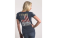 Women's I Stand T-shirt - Navy - X-large
