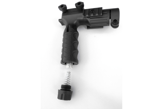 ar15 Rifle GRIP Foregrip+Storage+Pressure Switch+Flashlight Adapter+Picatinny Rail