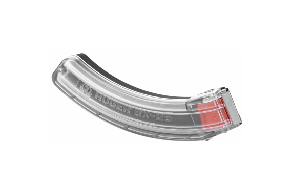 Ruger 10-22 Magazine 22lr 25rd Clear