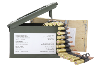 Federal Ammo .50 Bmg M33 Ball - M17 Tracer 4:1 Linked 100rds