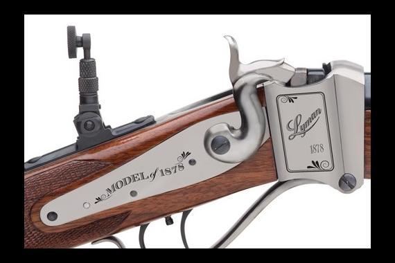Lyman Ideal 1878 Sharps Rifle - .45-70 Govt. Walnut