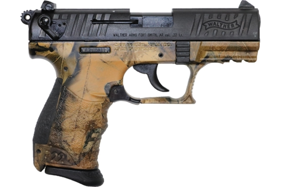 Walther P22q .22lr 3.4