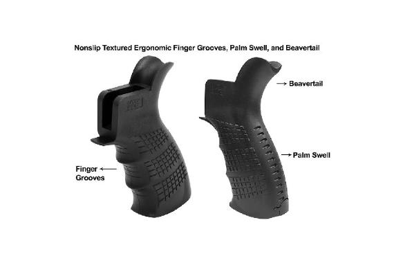 UTG PRO® AR15 Ambidextrous Pistol Grip, Black