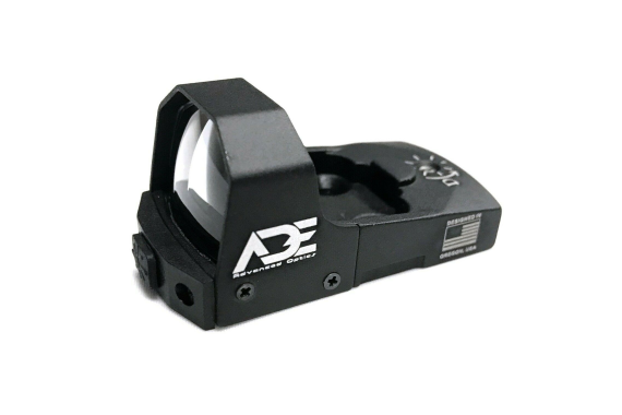 ADE Green Dot Sight w/ Mount Plate for Ruger Mark I,II,III,IV,1,2,3,4 red