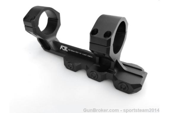 Ade Advanced Optics PS001 Cantilever One Piece Riflescope Mount - 30mm