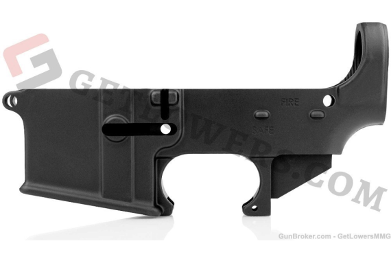 AR15 80% Lower Receiver (2-Pack) - Forged Aluminum, Mil-spec Black Anodized