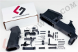 AR15 80% Lower Receiver & Complete Lower Parts Kit c/w Grip & Trigger Group